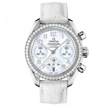 Omega Steel Automatic Mother of pearl Arabic numerals 38mm new Speedmaster Ladies Chronograph