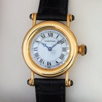 Cartier Diabolo Yellow gold 27mm White United States of America, California, Beverly Hills