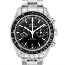 オメガ (Omega) Speedmaster Moonwatch Chronograph Black Steel...