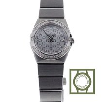 Omega 123.15.24.60.52.001 Staal Constellation Quartz 24mm
