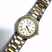 Baume & Mercier RIVIERA 2 Tone 18K Yellow Gold & SS Ladies...