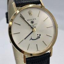 Rolex Cellini Saudi Arabia King Fahd Ref 4112 from 1980's