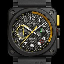 Bell & Ross BR 03-94 Chronographe Ceramic 42mm Black Arabic numerals