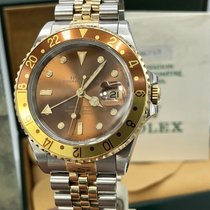 Rolex GMT Master II 16713 Root Beer Full Set box papers