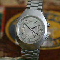 Omega Memomatic Steel 40mm Silver No numerals