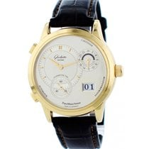 Glashütte Original PanoMaticVenue Yellow gold 39mm Silver United States of America, New York, New York