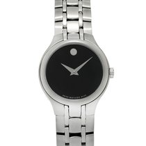 Movado Museum Stainless Steel Quartz Ladies Watch 0606368