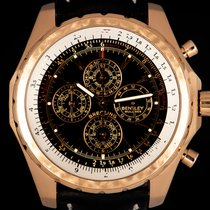 Breitling Bentley Mark VI Rose gold 48.7mm Black