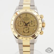 Rolex Daytona Steel and Gold | Champagne Index Dial 2006 Full Set