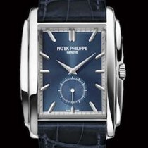 Patek Philippe 33.4mm Manual winding pre-owned Gondolo Blue