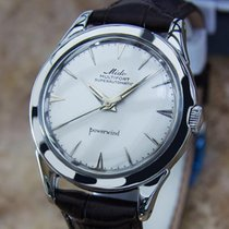Mido Steel 35mm Automatic Multifort pre-owned