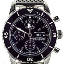 Breitling Superocean Héritage II Chronographe Steel 44mm Black United States of America, Illinois, BUFFALO GROVE