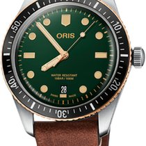 Oris Divers Sixty Five Steel 40mm Green No numerals United States of America, Texas, FRISCO