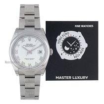 Rolex Datejust Steel 36mm White Roman numerals