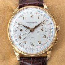 Chronographe Suisse Cie Yellow gold 38mm Manual winding N/A pre-owned