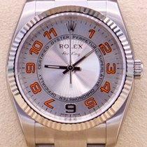 Rolex Air King neu 2018 Automatik Uhr mit Original-Box und Original-Papieren 114234