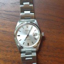 Rolex Oyster Precision occasion 34mm Argent Date Acier