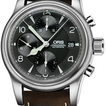 Oris Silver Automatic Grey 42mm new Big Crown