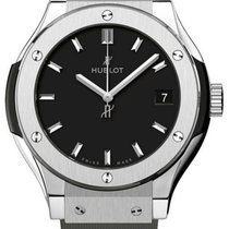 Hublot pre-owned Quartz 33mm Black Sapphire Glass 5 ATM
