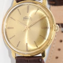 Ernest Borel Yellow gold 34mm Automatic pre-owned