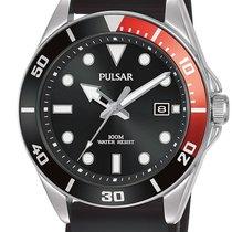 Pulsar Steel 41.6mm Quartz PG8297X1 new