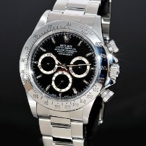 Rolex Daytona Steel 40mm Black No numerals Singapore, Ireland