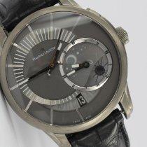 Maurice Lacroix Titan Automatik Grau 45mm gebraucht Pontos Décentrique GMT