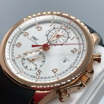 IWC Portuguese Yacht Club Chronograph IW390501 Very good Rose gold 43.5mm Automatic UAE, Abu Dhabi