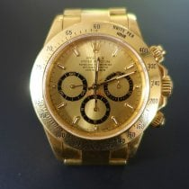 Rolex Daytona Yellow gold 40mm Champagne No numerals Australia, Toorak