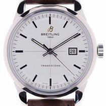 Breitling Transocean Chronograph Unitime Acero 42.8mm Plata Sin cifras España, Marratxí