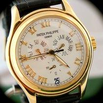 Patek Philippe Annual Calendar Gelbgold 37mm Champagnerfarben Römisch