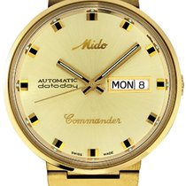 Mido Gold/Steel 37mm Automatic M8429.3.22.23 new