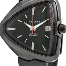 Hamilton Ventura Steel 46mm Black