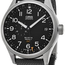 Oris Big Crown ProPilot GMT Steel Black United States of America, New York, Brooklyn