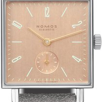 NOMOS Tetra Steel 29.5mm Pink United States of America, New York, Airmont