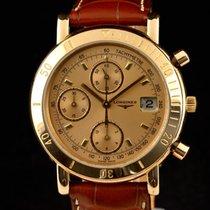 Longines Rare Limited Longines 18k pink gold chronograph