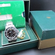 Rolex SUBMARINER 5513 WG Marker with Dome Crystal and Full Set