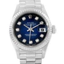 Rolex President Datejust White Gold Vignette Diamond Dial...