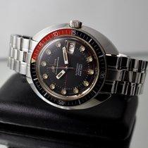 Bulova Oceanographer Snorkel 666FT Vintage Diving Watch Automatic
