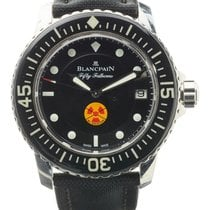 Blancpain | A Stainless Steel Automatic Center Seconds...