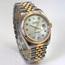 Rolex Datejust 36mm Stahl Gold 18K Jubileband LC100