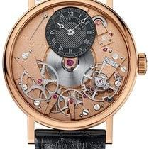 Breguet Tradition Rose gold 37mm Black Roman numerals