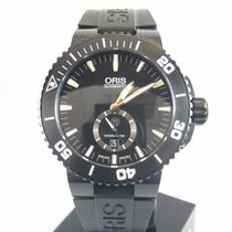 Oris Aquis Titan new Automatic Watch with original box and original papers 01 739 7674 7754-07 4 26 34BTE