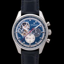 Zenith El Primero Chronomaster Steel 42.00mm Blue United States of America, California, San Mateo