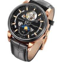 David Van Heim Swiss Mechanical Tourbillon Men's Watch T1...