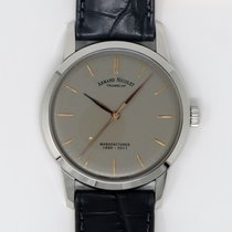 Armand Nicolet Steel 40mm Manual winding 9670A-GS-P670GR1 new