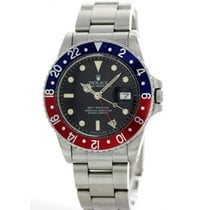 Rolex Oyster Perpetual GMT-Master Pepsi Bezel 16750 Mens Watch