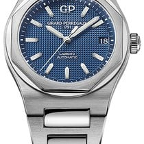 Girard Perregaux Laureato Steel Blue United States of America, New York, Brooklyn
