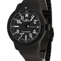 Fortis B-42 Black Titanium 42mm Black