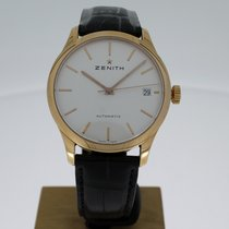 Zenith Red gold Automatic White No numerals 38mm new Port Royal